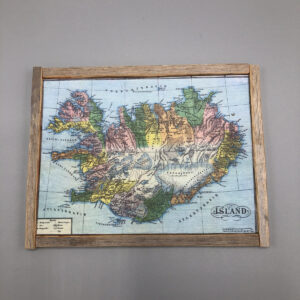 íslands kort